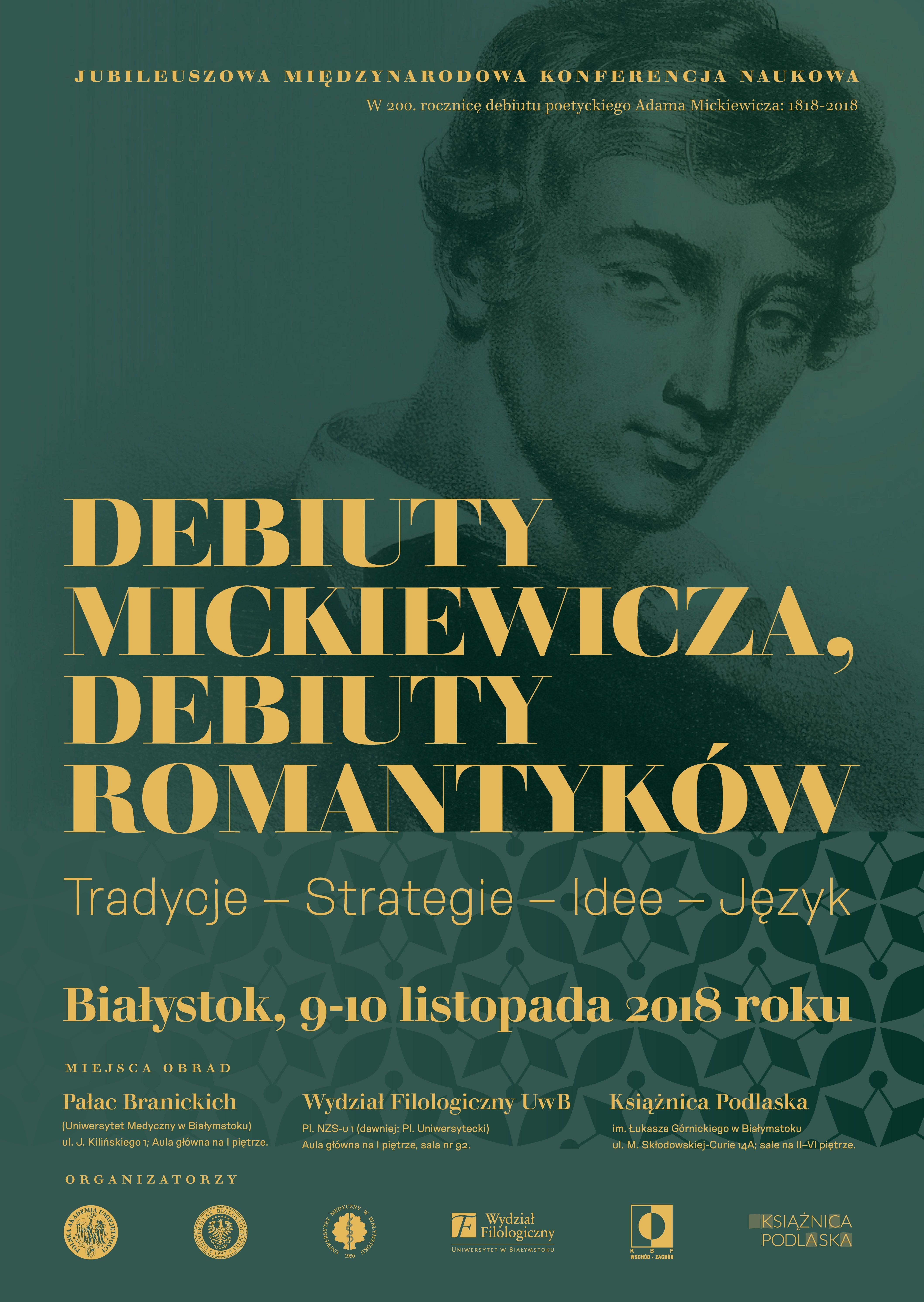 Debiuty Mickiewicza