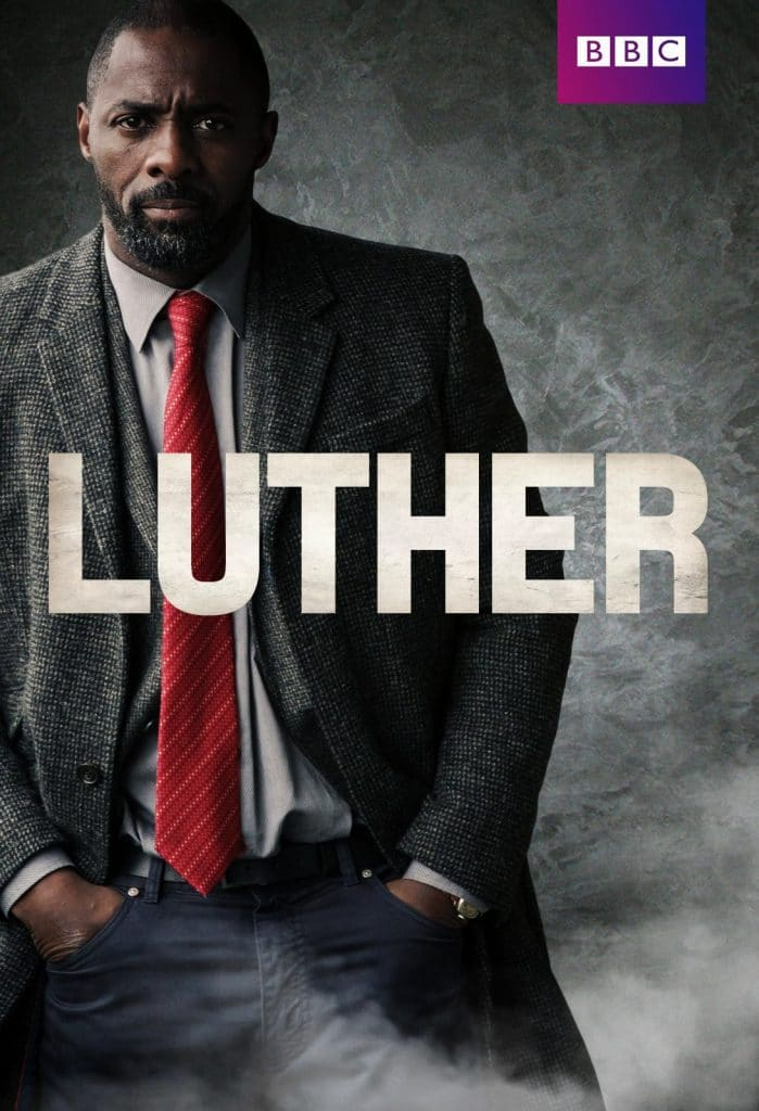 "Plakat serialu ""Luther"""